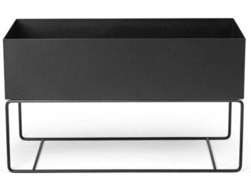 Pflanzgefäß Plant Box schwarz, Designer ferm LIVING, 45x77x34 cm