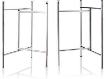 Tischgestell Klappbock 3 Richard Lampert, Designer Alexander Seifried, 69x39x58 cm