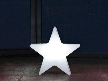 Außenlicht Shining Star 8 seasons design weiß, Designer 8 seasons design GmbH, 36x38x10 cm