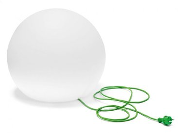Lampe Happy Apple Pedrali weiß, Designer Alberto Basaglia, Natalia Rota Nodari