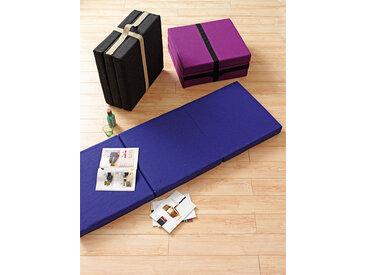 Softline Falt-Matratze Handy violett, Designer Busk & Hertzog, 27x63x66 cm
