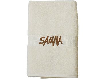 ESTELLA Saunatuch ESTELLA, beige, 70x180 cm
