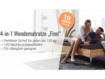 One fits all Wendematratze Finn 4-in-1 bis 130 kg, 90x200 cm - Kaltschaum-Matratze