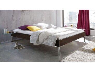Modernes Designerbett ohne Kopfteil Ferrara 140x200 cm - Anera - BETTEN.de