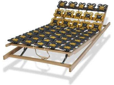 Tellerlattenrost 90x200 cm bis 130 kg einstellbar - modulflex - Lattenrost