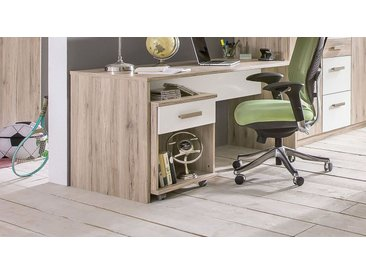 Schreibtisch mit großer Arbeitsfläche für Jugendliche - Tropea - Kinderschreibtisch