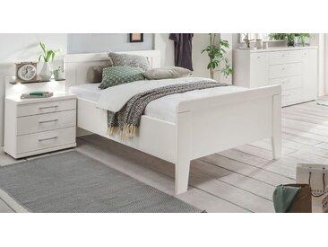 Preiswertes Seniorenbett in Weiß mit Fußteil 90x190 cm - Calimera - BETTEN.de