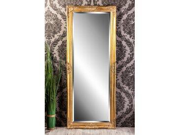 Barockspiegel Wandspiegel antik gold Barock LEANDRA 150 x 60 cm  -  indoor