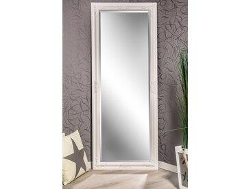 Barockspiegel Wandspiegel  weiß Barock KATHARINA 150 x 60 cm  -  indoor