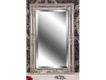 Barockspiegel Wandspiegel silber antik Barock KIM 80 x 50 cm  -  indoor