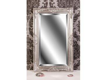Barockspiegel Wandspiegel silber antik Barock CLAIRE 80 x 50 cm  -  indoor