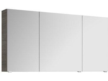 Pelipal Fokus 4010 Spiegelschrank 140x17x70,3cm Graphit Struktur quer Nachbildung