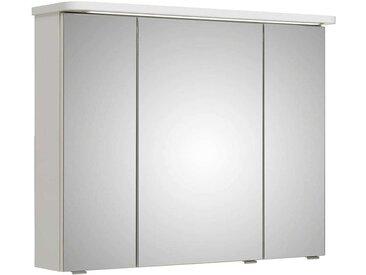 Pelipal Fokus 4005 Spiegelschrank mit LED-Beleuchtung 90x17x72,2cm Lack Polarweiß Hochglanz
