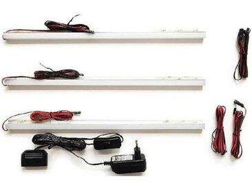 MCA Beleuchtung LED-Rückwandbeleuchtung 45 cm 3er-Set