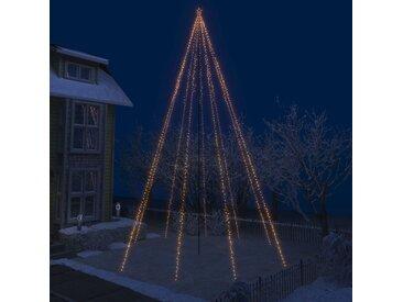 vidaXL LED-Lichterkette Weihnachtsbaum Indoor Outdoor 1300 LEDs 8 m