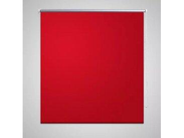 vidaXL Verdunklungsrollo Verdunkelungsrollo 40 x 100cm Rot
