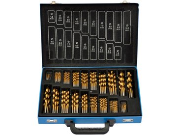 vidaXL HSS Bohrer Set 170-teilig titan-beschichtet