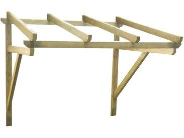 vidaXL Türvordach 200×150×160 cm Kiefer Massivholz