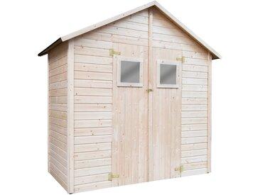 vidaXL Garten-Lagerschuppen 226 x 124 x 218 cm Holz