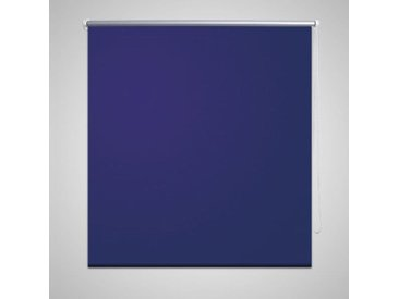 vidaXL Verdunklungsrollo Verdunkelungsrollo Rollo 60x120 blau