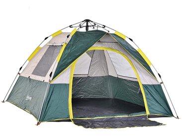 Outsunny Campingzelt für 3-4 Personen olivegrün