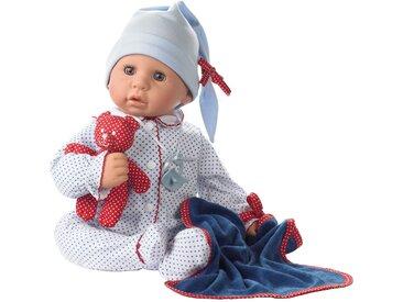 Götz Babypuppe Cookie blue spots 48 cm