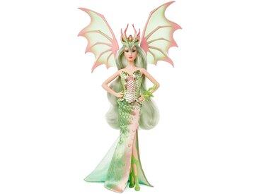 Mattel Barbie Signature Mythical Muse Fantasy Dragon Empress-Puppe Sammlerpuppe mit pastellfarbenen