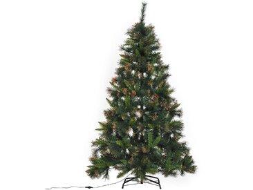 Homcom Künstlicher Weihnachtsbaum grün