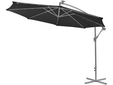 Gartenfreude Sonnenschutz LED Ampelschirm 300 cm