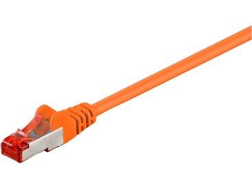 goobay Kabel Patchkabel Cat.6 SFTP orange 50m