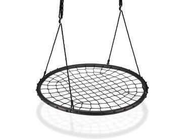 Relaxdays Nestschaukel mit Netz 120 cm