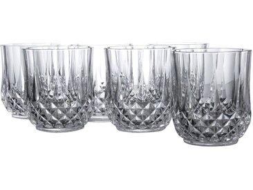 CreaTable, 14445, Serie Longchamp ECLAT, 6-er Set Whiskybecher 32 cl