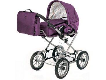 Brio Puppenwagen Premium Combi violett inkl. Tasche