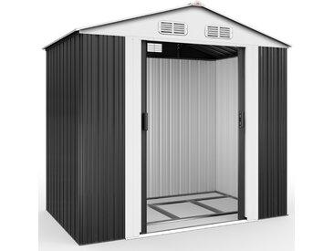 Deuba XL Gerätehaus mit Fundament Kantenschutz