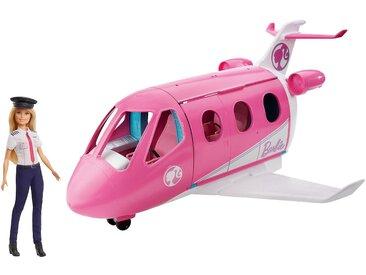 Mattel Barbie Reise Traum-Flugzeug mit Puppe blond Karriere-Barbie Barbie Pilotin