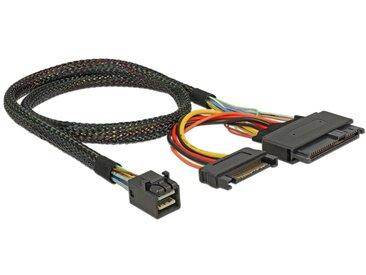 DeLOCK Adapterkabel SFF-8643 > U.2 SFF-8639 + SATA Stromanschluss