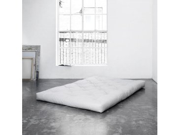 Futonmatratze, Karup Design, 16 cm hoch, weiß, 160 cm x 200 cm x 16 cm