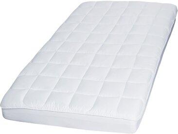 Matratzenauflage »COMFORT«, MESANA, 3 cm hoch, Kunstfaser, Höhe 3 cm, weiß, 140 cm x 200 cm x 3 cm
