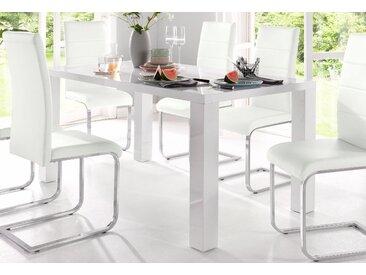 Esstisch, Neckermann, weiß, 120 cm x 75 cm x 90 cm