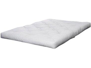 Futonmatratze, Karup Design, 18 cm hoch, weiß, 160 cm x 200 cm x 18 cm