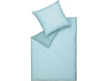Wendebettwäsche »Scatter«, Esprit, mit besticktem Kissenbezug, blau