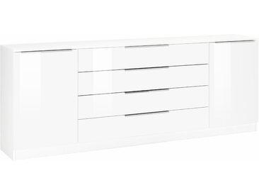 borchardt Möbel Kommode »Oliva«, Breite 200 cm, mit 4 Schubkästen, weiß