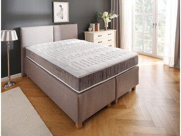 Boxspringmatratze »Clemens Braun«, DELAVITA, 24 cm hoch, 448 Federn, bietet den optimalen Wohlfühlkomfort!, 160 cm x 200 cm x 24 cm