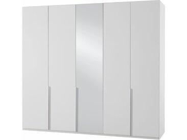 Wimex Kleiderschrank »New York« mit Schubkasteneinsatz und Einlegeböden, weiß, 225 cm x 236 cm x 58 cm