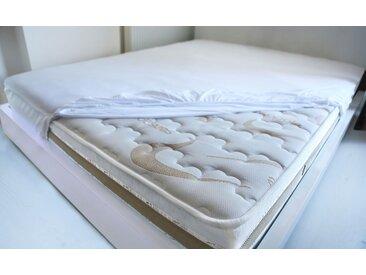 Matratzenschutzbezug »Top Care Jersey S« Mr. Sandman, weiß, 200 cm x 200 cm