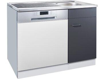 HELD MÖBEL Spülschrank »Elster« für Unterbau-Geschirrspüler, ohne Möbelfront B/H/T: ca. 100/60/85 cm, weiß