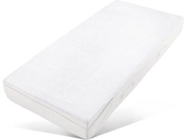 Matratzenersatzbezug »Chris« my home, Mit kühlender Sommer- & wärmender Winterseite für Matratzen von 19-22cm, weiß, 180 cm x 200 cm x 22 cm