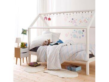 Kinderbettwäsche »PÜNKTCHEN«, Estella, mit zarten Streifen, bunt