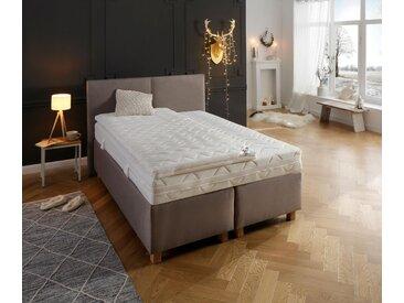 Matratzentopper »Sandy«, my home, 8 cm hoch, Raumgewicht: 30, Komfortschaum, in 3 Festigkeiten, individuelle Druckentlastung, weiß, 180 cm x 200 cm x 8 cm