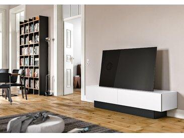 SPECTRAL Lowboard »BRS«, mit Soundsockel, wahlweise mit TV-Halterung, Breite 200 cm, weiß